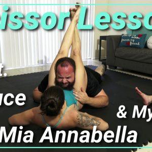 Scissor Lessons with Mia Annabella & Mystique